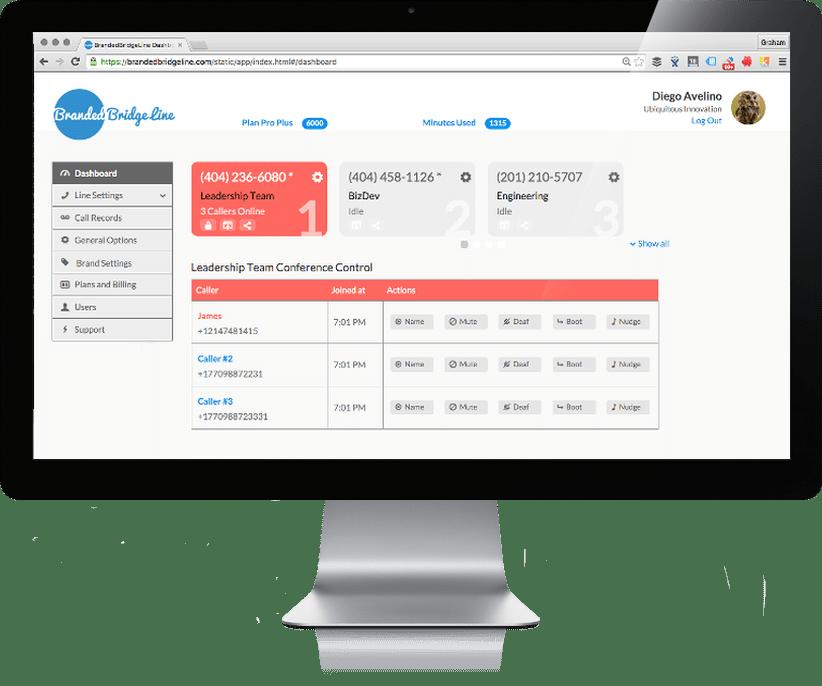 disruptive conferencing dashboard
