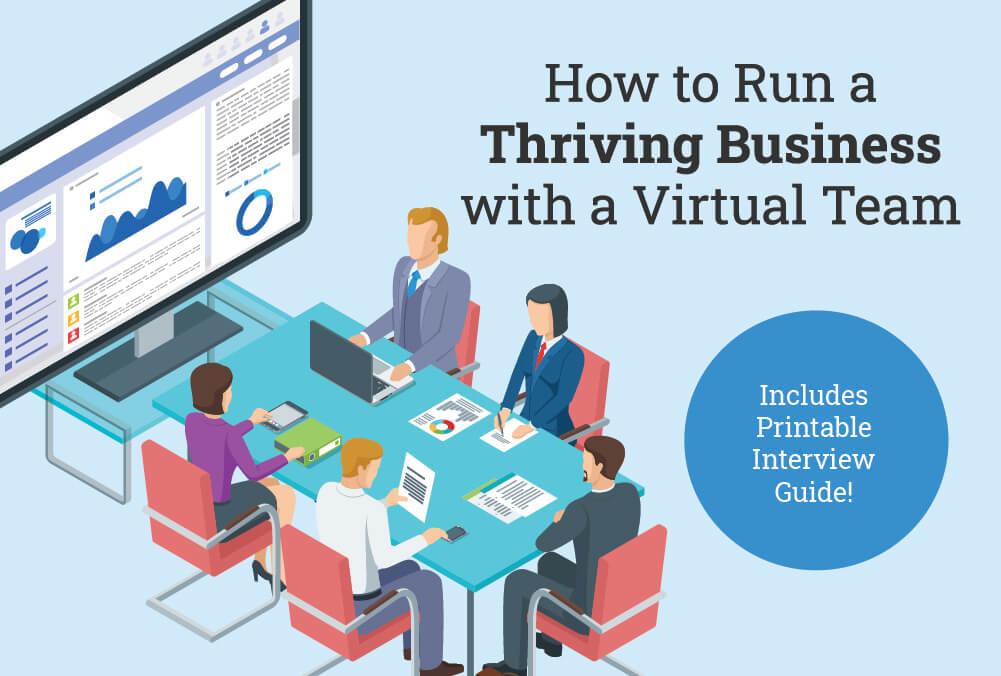 benefits of having a virtual team